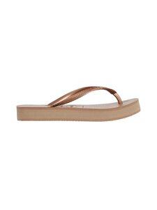 Havaianas - Slim Flatform Flip Flops -varvassandaalit - 3581 ROSE GOLD | Stockmann