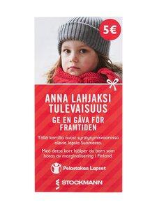 Pelastakaa Lapset Ry - Lahjoitus Pelastakaa Lapset ry:lle 5 € - null | Stockmann