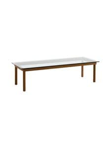 HAY - Kofi-pöytä 140 x 50 cm - WALNUT / CLEAR GLASS | Stockmann