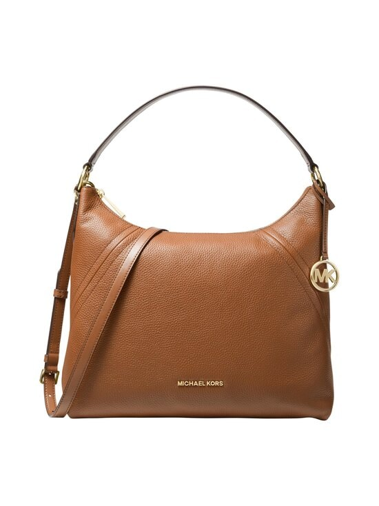 Michael Michael Kors - Aria Large Shoulder Bag -nahkalaukku - 230 LUGGAGE | Stockmann - photo 1