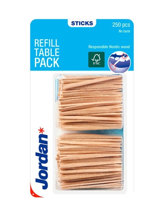 Jordan - Refill Table Pack -hammastikku 250 kpl   Stockmann - photo 1