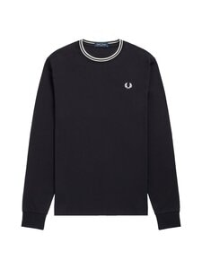 Fred Perry - Twin Tipped -paita - 102 BLACK | Stockmann