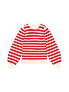 Ganni - Soft Wool Knit -villasekoiteneule - FLAME SCARLET | Stockmann