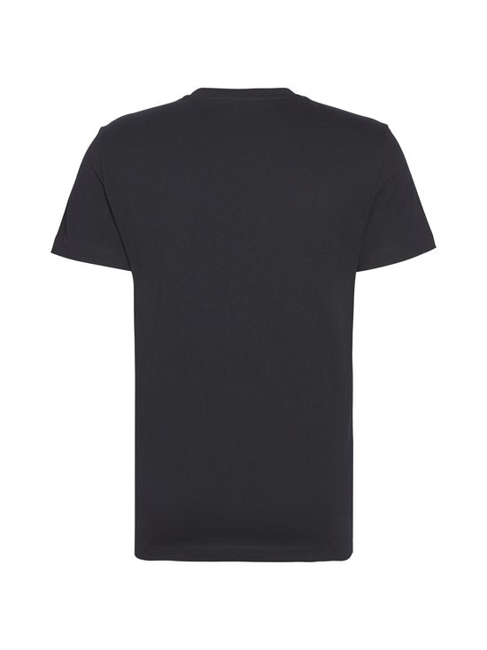 Calvin Klein Jeans - Chest Institutional Slim SS Tee -paita - 099 CK BLACK | Stockmann - photo 2