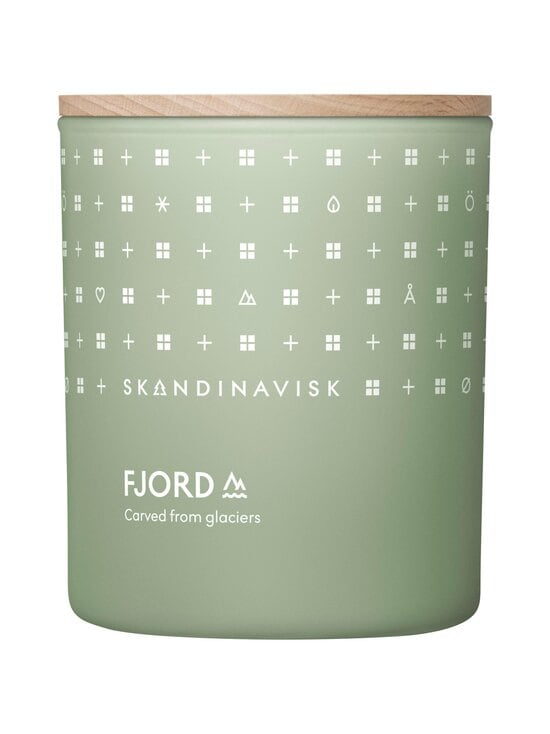 Skandinavisk - FJORD-tuoksukynttilä 200 g - FJORD GREEN | Stockmann - photo 1