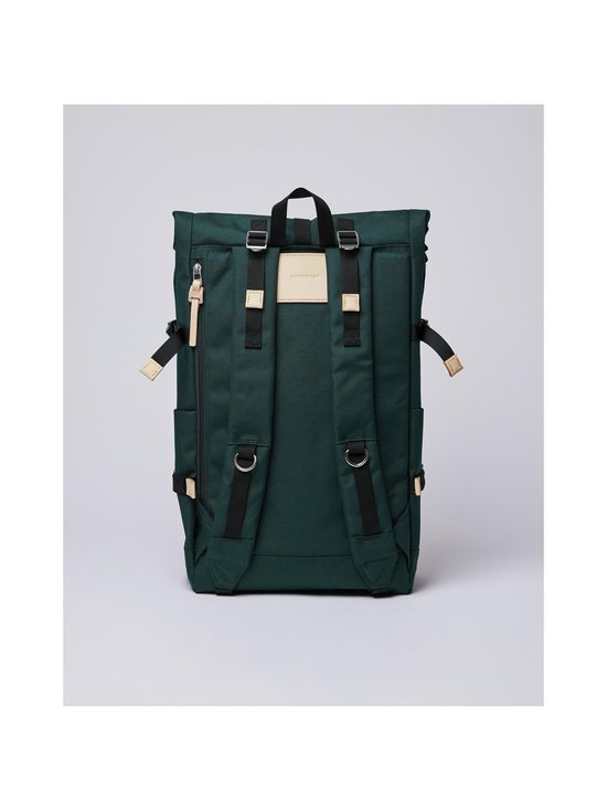 Sandqvist - Bernt-reppu - DARK GREEN WITH NATURAL LEATHER | Stockmann - photo 3