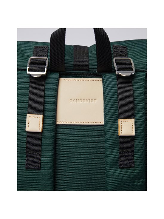 Sandqvist - Bernt-reppu - DARK GREEN WITH NATURAL LEATHER | Stockmann - photo 4