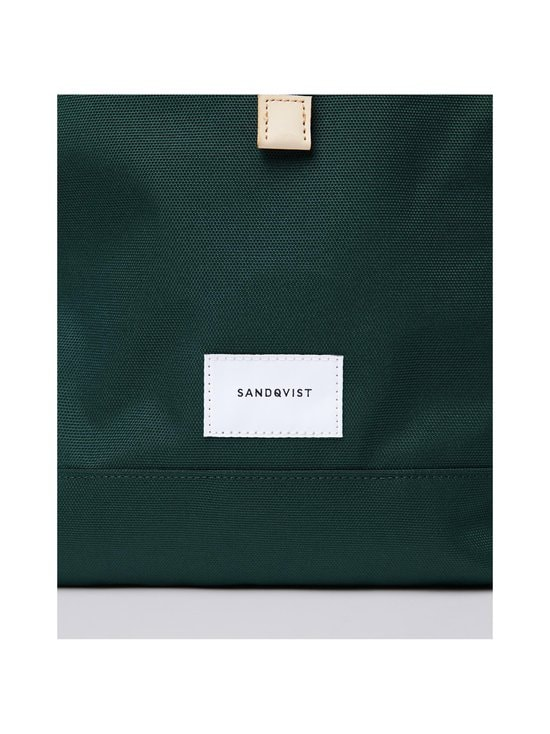 Sandqvist - Bernt-reppu - DARK GREEN WITH NATURAL LEATHER | Stockmann - photo 5