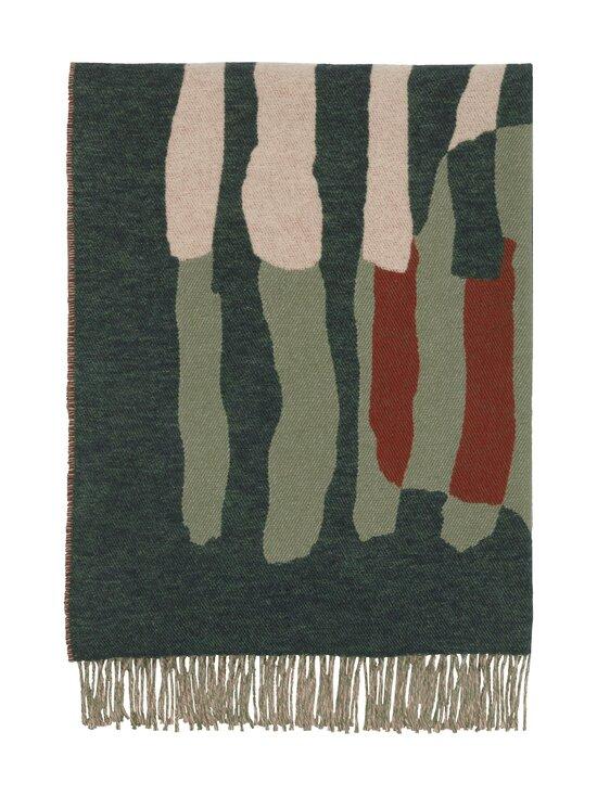 Marimekko - VUOSIRENKAAT -villasekoitehuopa 130 x 170 cm - 860 BEIGE, GREEN, PINK | Stockmann - photo 3