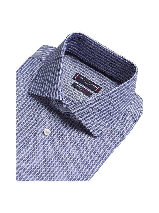 Tommy Hilfiger Tailored - Flex Collar Stripe Slim Fit -kauluspaita - 0GY NAVY/WHITE | Stockmann - photo 3