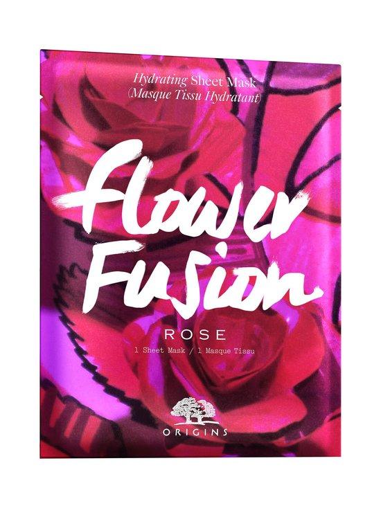 Origins - Flower Fusion™ Hydrating Sheet Mask -kangasnaamio | Stockmann - photo 1