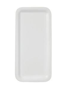 Casa Stockmann - Sera-tarjotin 23 x 11 cm - WHITE   Stockmann