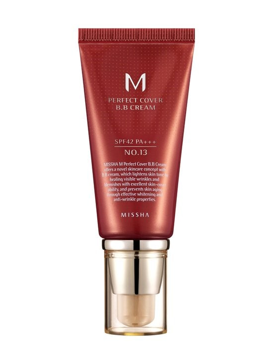 Missha - M Perfect Cover BB Cream Spf42Pa+++ 13/Bright Beige -BB-voide 50 ml - 13/BRIGHT BEIGE | Stockmann - photo 1