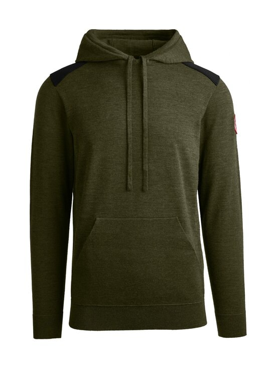 Canada Goose - Amherst Hoody -merinovillaneule - 49 MILITARY GREEN - VERT MILITAIRE | Stockmann - photo 1