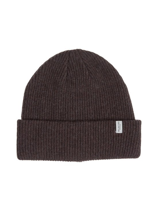 Selected - SlhCray Beanie -pipo - COFFEE BEAN DETAIL:MELANGE | Stockmann - photo 1