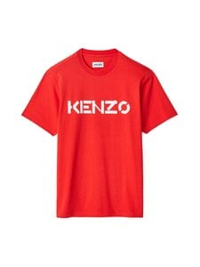 Kenzo - Logo Classic T-Shirt -paita - 21 - SINGLE JERSEY - MEDIUM RED | Stockmann
