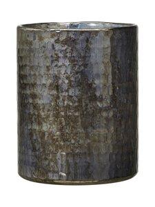 Wikholm Form - Kalindi-ruukku 12 x 15 cm - BLACK MELANGE | Stockmann