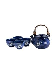 Tokyo Design Studio - Blue Sakura -teesetti - BLUE | Stockmann