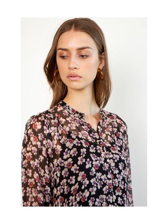 SECOND FEMALE - Fleurir Dress -mekko - 8001 BLACK | Stockmann - photo 6