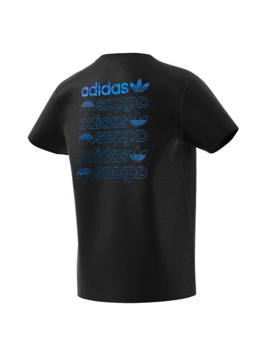 adidas Originals - Linear Logo Tee -paita - BLACK/TEAM ROYAL BLUE   Stockmann - photo 2