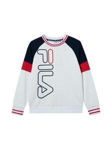 Fila - Junes-collegepaita - A023 BRIGHT WHITE-BLACK IRIS-TRUE RED | Stockmann
