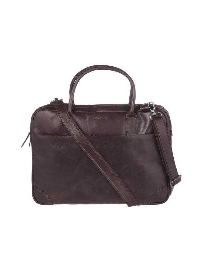 Explorer Laptop Bag Double -nahkalaukku