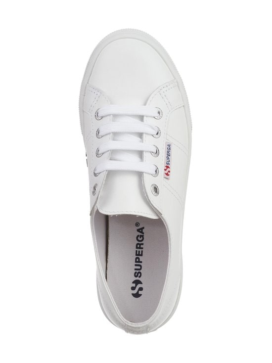 Superga - 2730 Nappa Cotu -nahkatennarit - 900 WHITE | Stockmann - photo 2