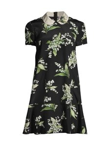 RED Valentino - May Lily -silkkimekko - 0NO NERO | Stockmann