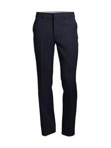 Ami - Wool Wide Fit Trousers -housut - NAVY/410 | Stockmann