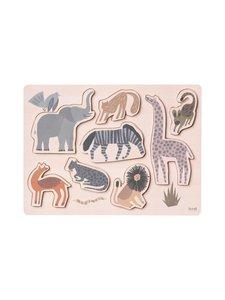 Ferm Living - Safari Puzzle -palapeli - NATURAL | Stockmann