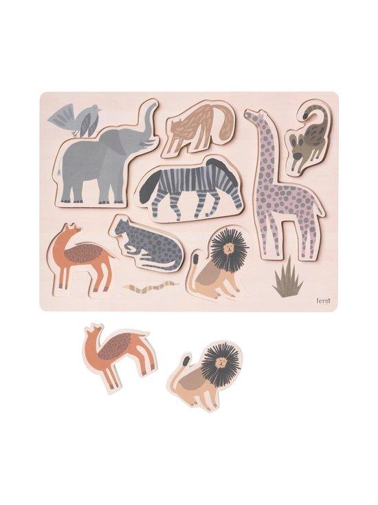 Ferm Living - Safari Puzzle -palapeli - NATURAL | Stockmann - photo 2