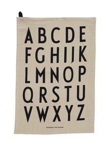 Design Letters - Classic Tea Towel -keittiöpyyhe 40 x 60 cm, 2 kpl - BEIGE | Stockmann