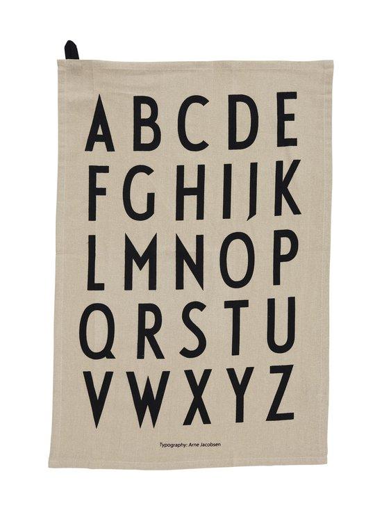 Design Letters - Classic Tea Towel -keittiöpyyhe 40 x 60 cm, 2 kpl - BEIGE | Stockmann - photo 1