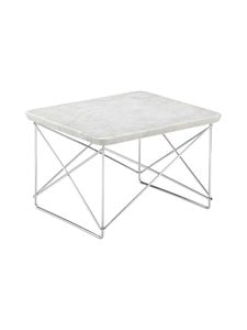 Vitra - Occasional Table LTR -pöytä - MARBLE LIGHT/CHROME | Stockmann