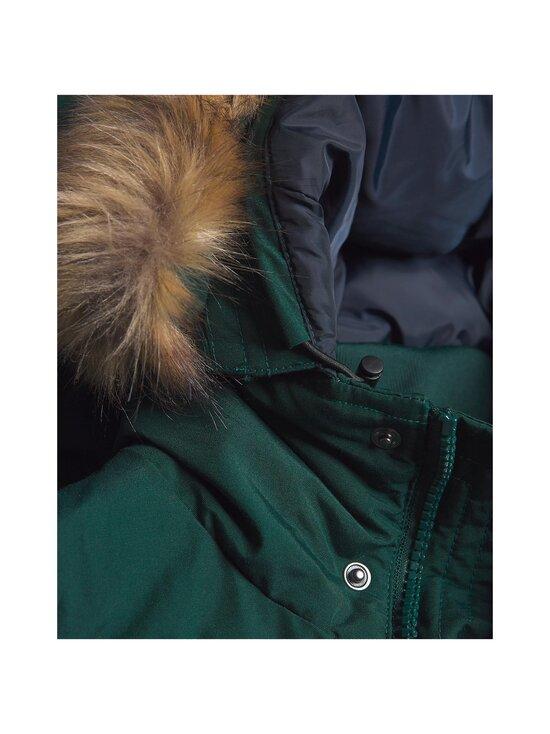Faux Fur Down Parka
