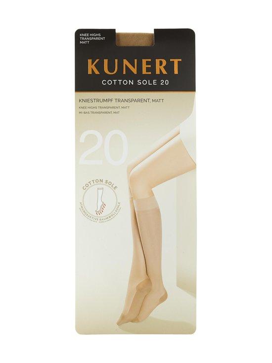 Kunert - Cotton Sole 20 den -polvisukat - CASHMERE | Stockmann - photo 1