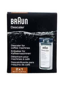 Braun - Ecodecalk Descaler -kalkinpoistoaine 2 x 100 ml - BLACK | Stockmann