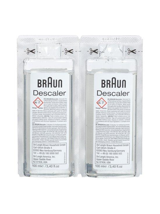 Braun - Ecodecalk Descaler -kalkinpoistoaine 2 x 100 ml - BLACK | Stockmann - photo 2