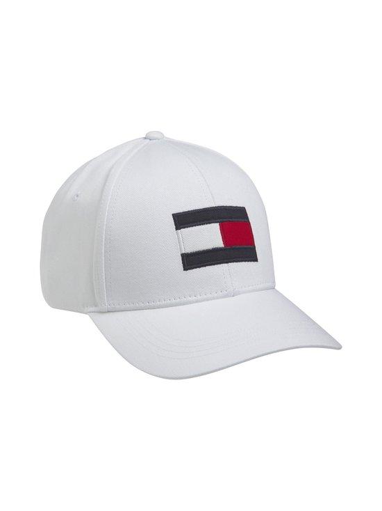 Tommy Hilfiger - Big Flag Cap -lippalakki - YBR WHITE | Stockmann - photo 1