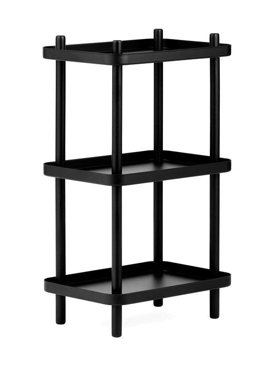 Normann Copenhagen - Block Shelf -hylly 87 x 50 x 35 cm - BLACK | Stockmann - photo 1