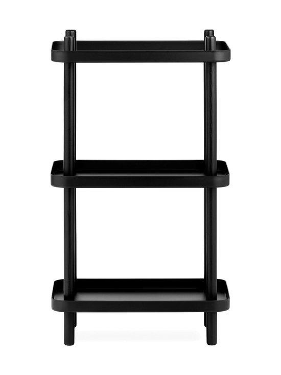 Normann Copenhagen - Block Shelf -hylly 87 x 50 x 35 cm - BLACK | Stockmann - photo 2