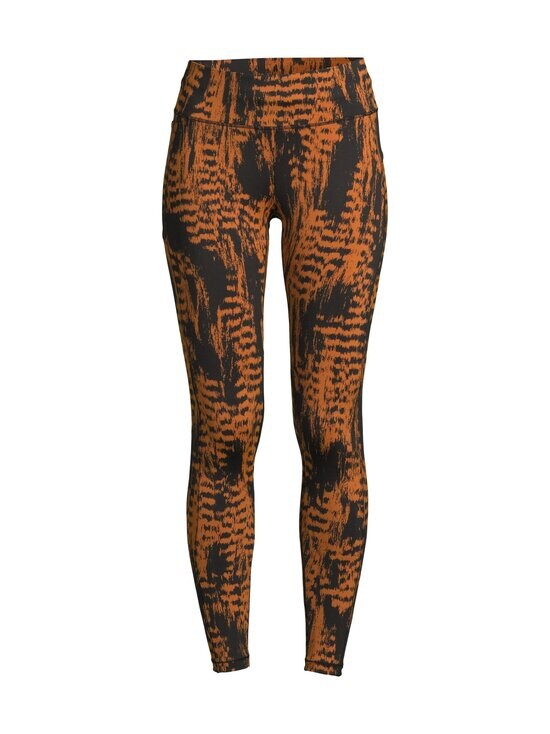 Casall - Iconic Printed 7/8 Tights -treenitrikoot - 189 SURVIVE BROWN | Stockmann - photo 1