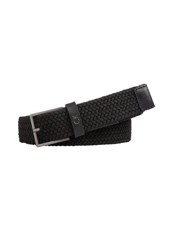 Calvin Klein Bags & Accessories - Formal Elastic Belt -vyö - 001 BLACK | Stockmann - photo 1