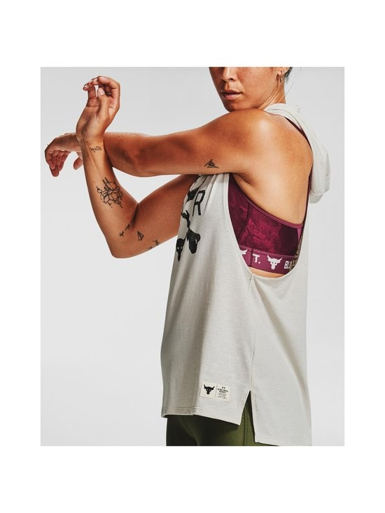 Project Rock Hooded Tank -toppi