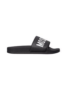 Moschino - Pool Slide -sandaalit - BLACK/WHITE PRINT | Stockmann