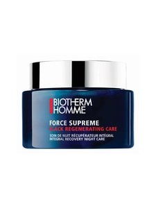 Biotherm - Homme Force Supreme Black Regenerating Care -yövoide 75 ml - null | Stockmann