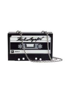 Karl Lagerfeld - Tape Minaudiere -laukku - A999 BLACK | Stockmann