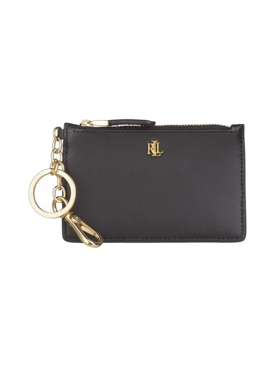 Lauren Ralph Lauren - Carryover Zip -korttikotelo - 2WAH BLACK | Stockmann - photo 1