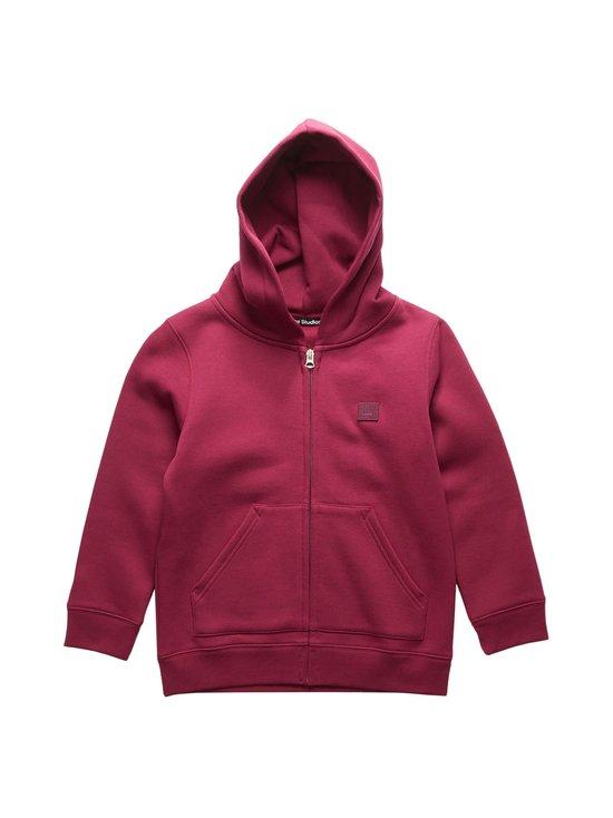 Acne Studios - Mini Ferris Zip F hoodie -huppari - DARK PINK ACS   Stockmann - photo 1