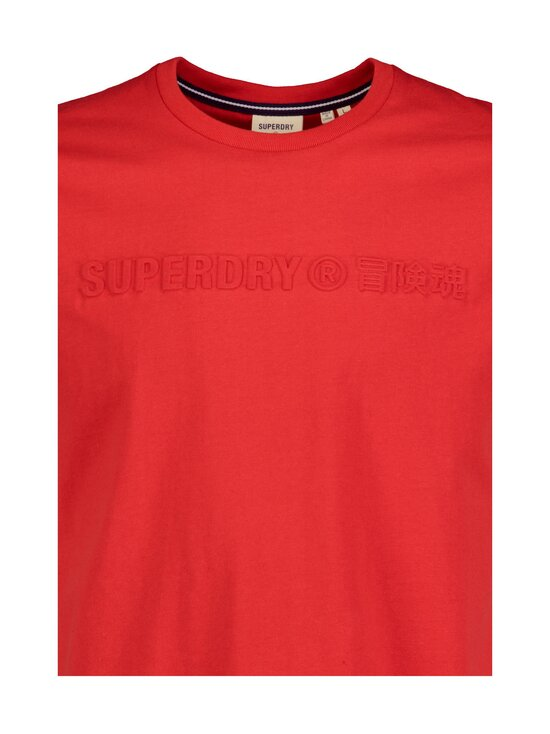 Superdry - Sportstyle Embossed Tee -paita - OPI RISK RED | Stockmann - photo 3